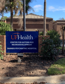 UF Health CAN sign